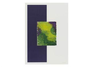60 x 40 cm. monotype op papier collectie Stedelijk Museum Schiedam